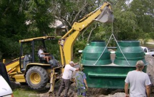 Pence Septic Tanks installs aerobic septic systems